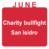 june charity bullfight