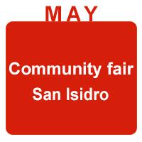 may community and san isidro fair